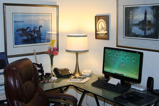 oswietlenie biura