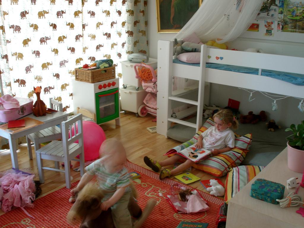 pokój dla małych dzieci