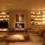 nowoczesne oświetlenie domu